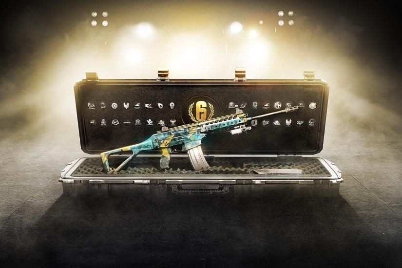 Tags: Pro League Weapon Skins, Tom Clancy's, Rainbow Six Siege