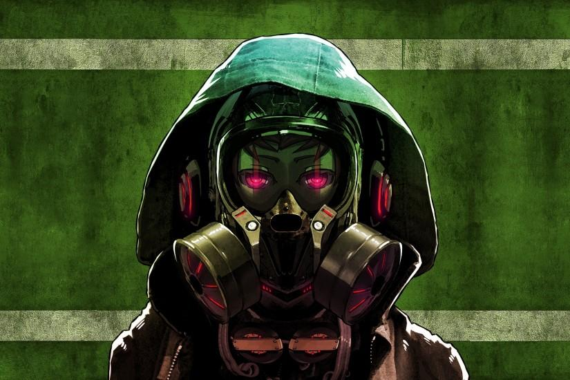 free gas mask wallpaper 2560x1600 for iphone 7