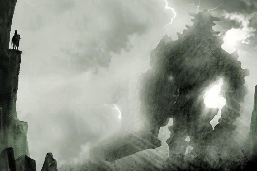 shadow of the colossus wallpaper 2560x1600 for ios