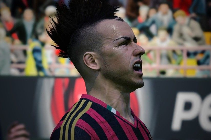 pes 2015 official trailer el shaarawy wallpaper