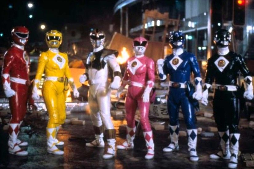 Mighty Morphin Power Rangers The Movie- MMPR TM Theatrical Trailer BGM