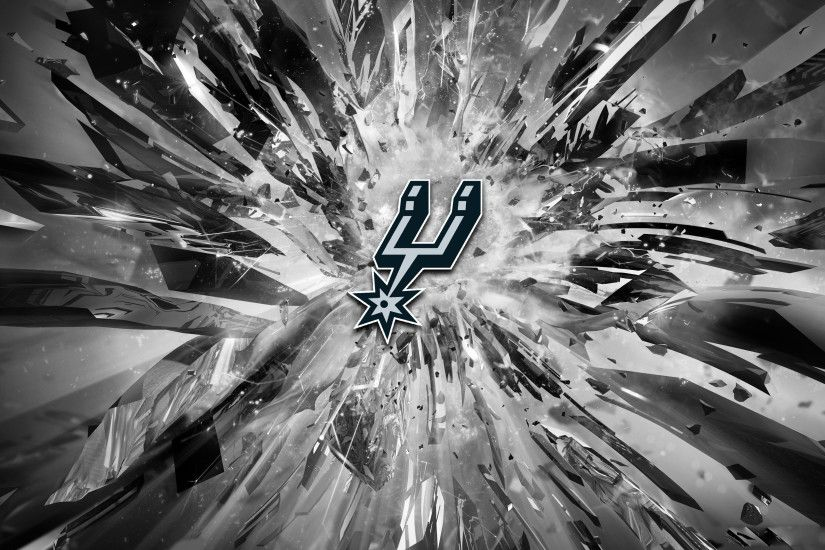 San-Antonio-Spurs-2015-Logo-4K-Wallpaper