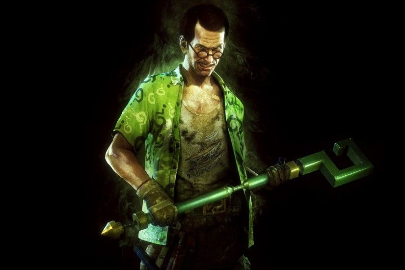 Video Game - Batman: Arkham Knight Riddler Wallpaper