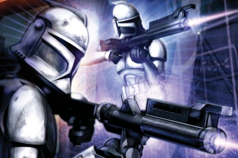 Sci Fi - Star Wars Clone Trooper Wallpaper