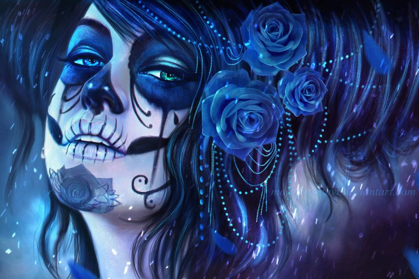 ... Android / Smartphone · Sugar Skull 1080p Wallpaper