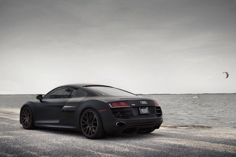 Audi R8 Black 9 60103 Backgrounds | Black Wallpapers