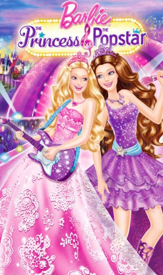 Wallpapers Barbie Princess Movies The And Popstar Cover 1280x2157