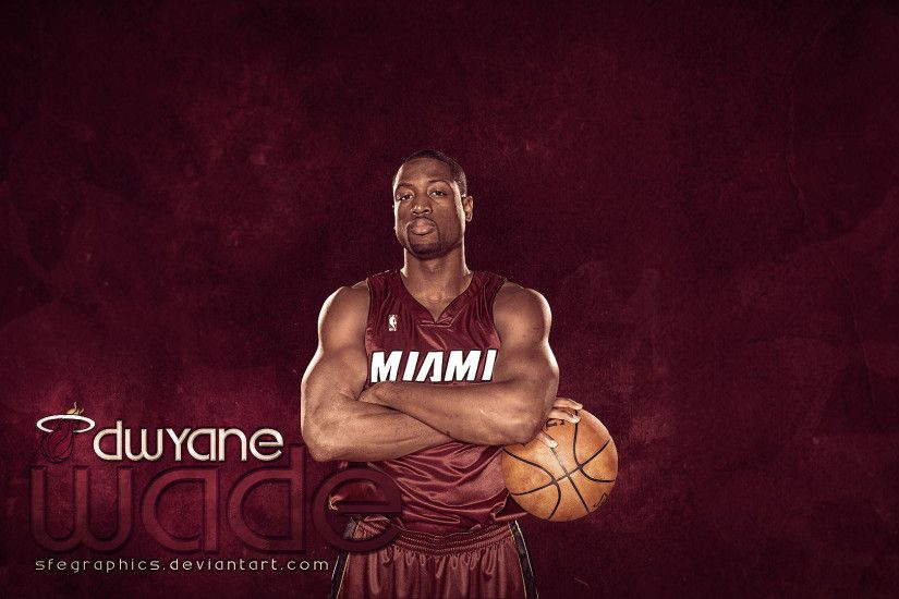D-Wade 2011 Heat Posing Widescreen Wallpaper