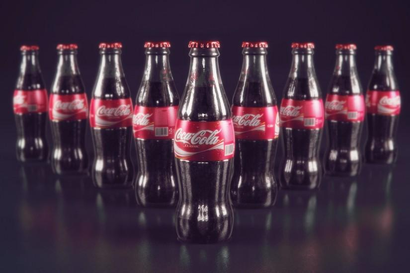 Coca Cola Bottle Cool Backgrounds Wallpapers