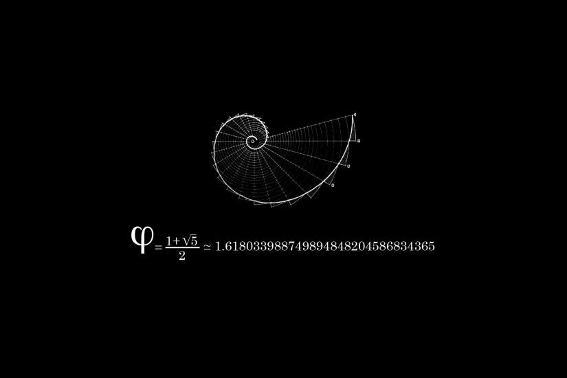 The Golden Ratio - one of the foundations of all life on this planet, not  to mention art, music, and aesthetics.