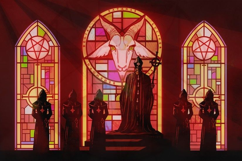 Satan, Lucifer, Church, Papa Emeritus, Ghost, Ghost B.C.