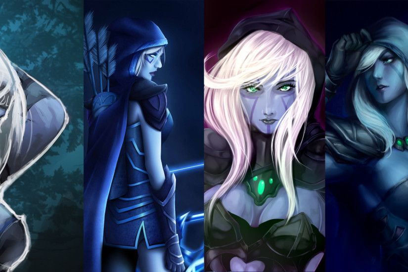 Simple Drow Ranger Wallpaper