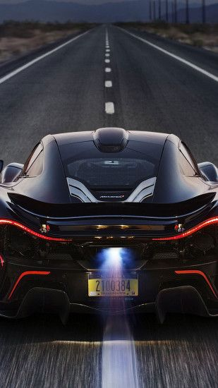 McLaren P1 Back Race iPhone 6 Plus HD Wallpaper ...