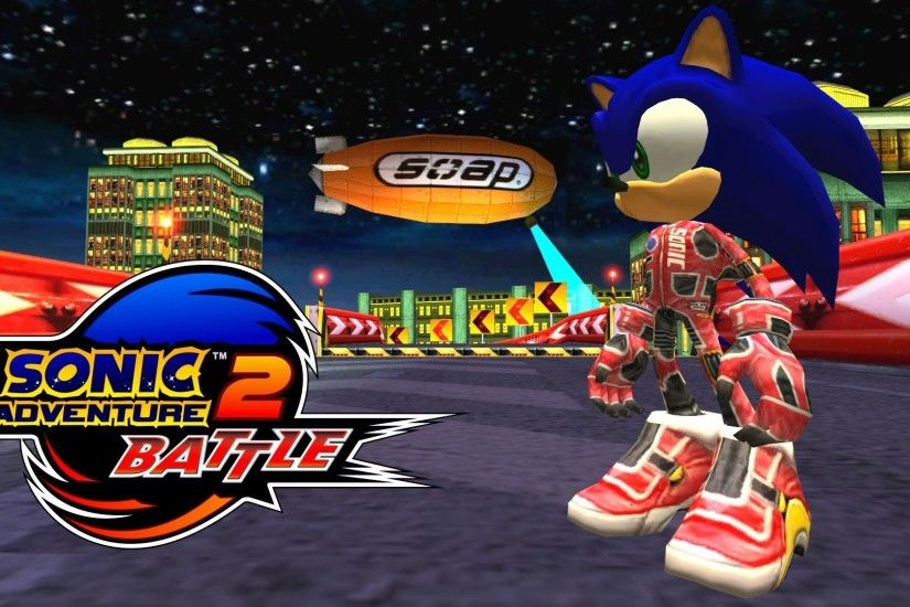 Sonic Adventure 2: Battle - Radical Highway - Sonic (Alt. costume) [REAL  Full HD, Widescreen] 60 FPS - YouTube