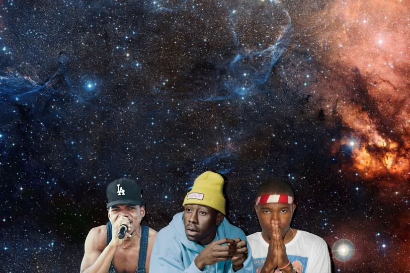 Tyler The Creator, Chance The Rapper & Frank Ocean 4K Wallpaper - Imgur