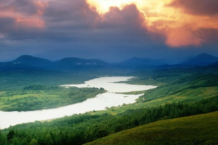 Mountains clouds landscapes nature rivers clouds, landscapes, nature,  rivers) via www. Explore the 50 beautiful Nature Wallpapers ...