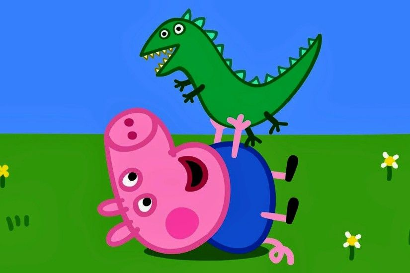 Peppa Pig Coloring Pages For Kids Coloring Book Peppa Pig George Dinosaur