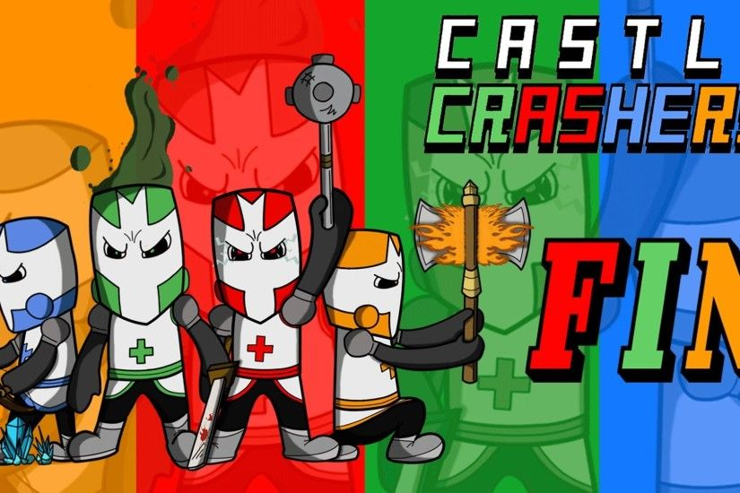 Castle Crashers - Four Player Co-op Revived Cyclops, Necromancer, And  Ending! Final Part - YouTube