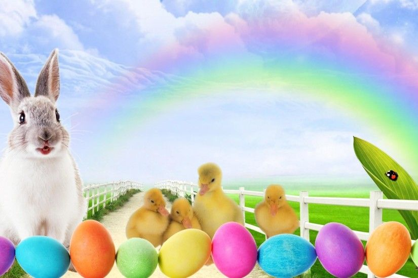 easter bunny hd background wallpaper 12149 baltana