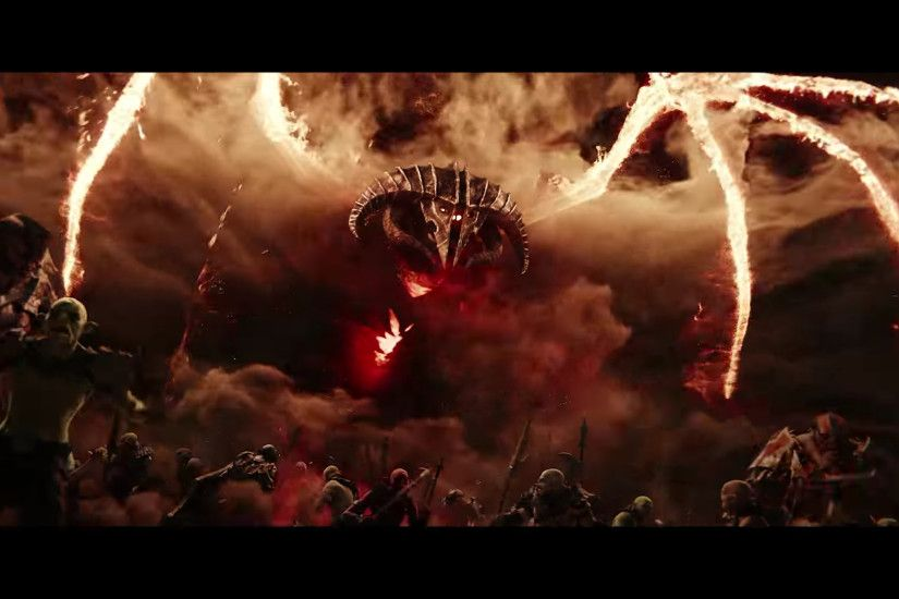 The Balrog! Im so excited that the trailer showed these because i think  that now that they're finally adding more of the crazy creatures this time  around we ...
