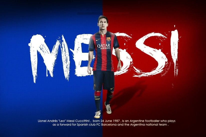 Backgrounds FC Barcelona Lionel Messi.