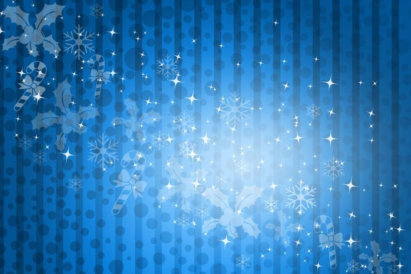 Free Blue Christmas Background with White Scatters - CreativityWindow .