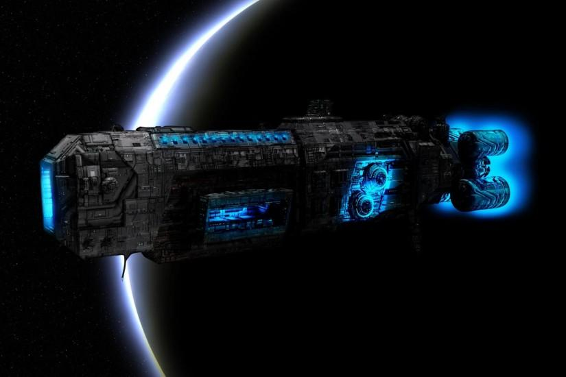 Spaceship Wallpaper Stock Picture #6d2izmgx
