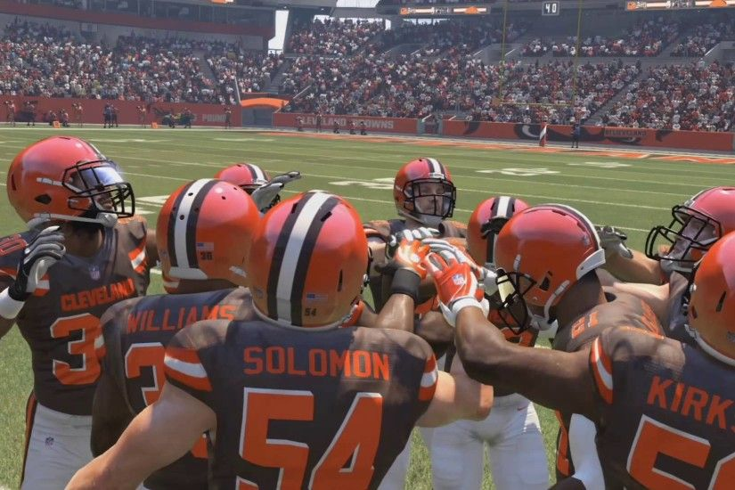 Madden NFL 16 - Cincinnati Bengals vs Cleveland Browns Gameplay (XboxONE  HD) [1080p]