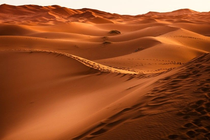 Desert Sand Dunes Nature 4K Wallpapers, Images, HD