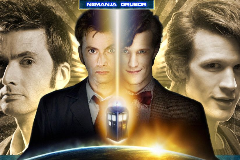 ... He is The Doctor wallpaper by ngrubor