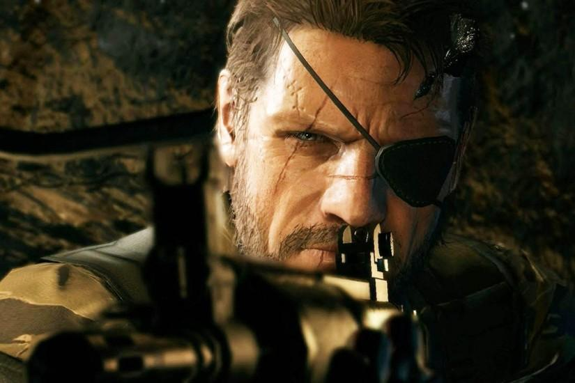 Big Boss aiming - Metal Gear Solid V: The Phantom Pain 1920x1080 wallpaper