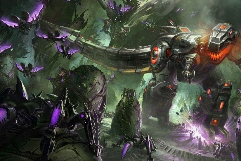 Transformers Fall of Cybertron Dinobots Grimlock Wallpaper