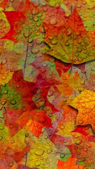 Fall Leaves Wallpaper - Free iPhone Wallpapers