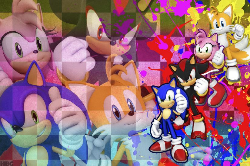 Shadow and Metal Sonic - Sonic Boom Wallpaper by Knuxy7789