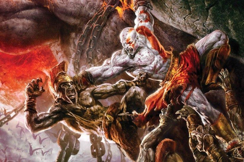 Kratos Hd Wallpaper Wallpapertag