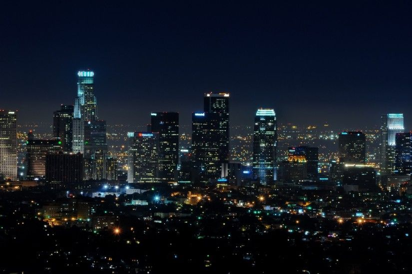Man Made - City Los Angeles Wallpaper