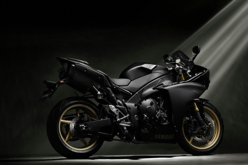 Black Street Bike Wallpaper