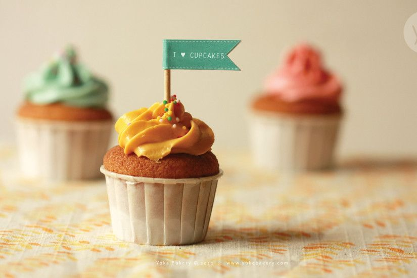 1080x1920 Delicious Cute Colorful Cupcake #iPhone #6 #plus #wallpaper