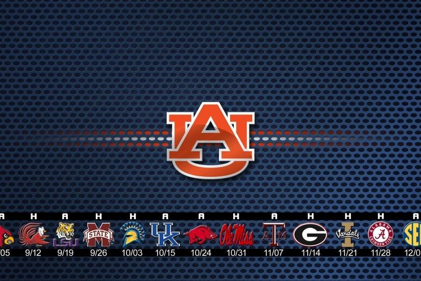 Auburn Tigers Football 2015 Schedule Wallpaper ...