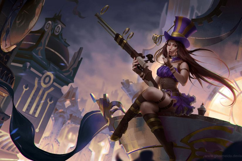 league of legends caitlyn wallpaper hd with high resolution wallpaper on  games category similar with akali