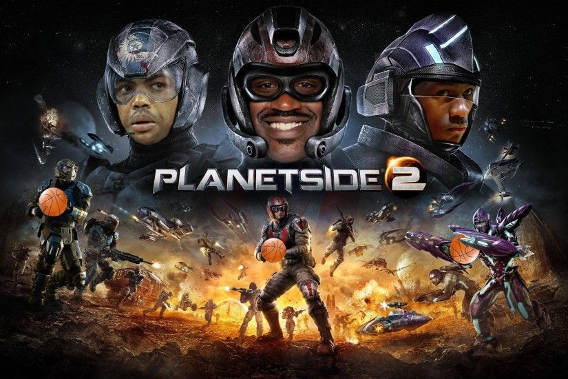 PlanetSlam2 - Space Jam / Planetside Wallpaper ...