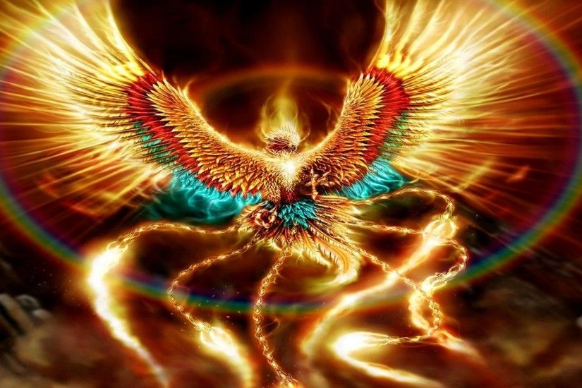 ... 1920x1200 phoenix bird art hd wallpaper ...