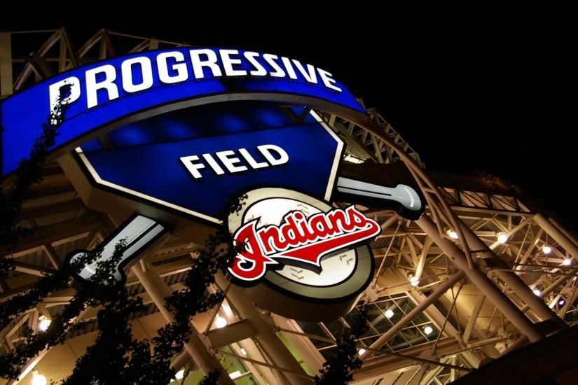 Outside Progressive Field Desktop Wallpaper