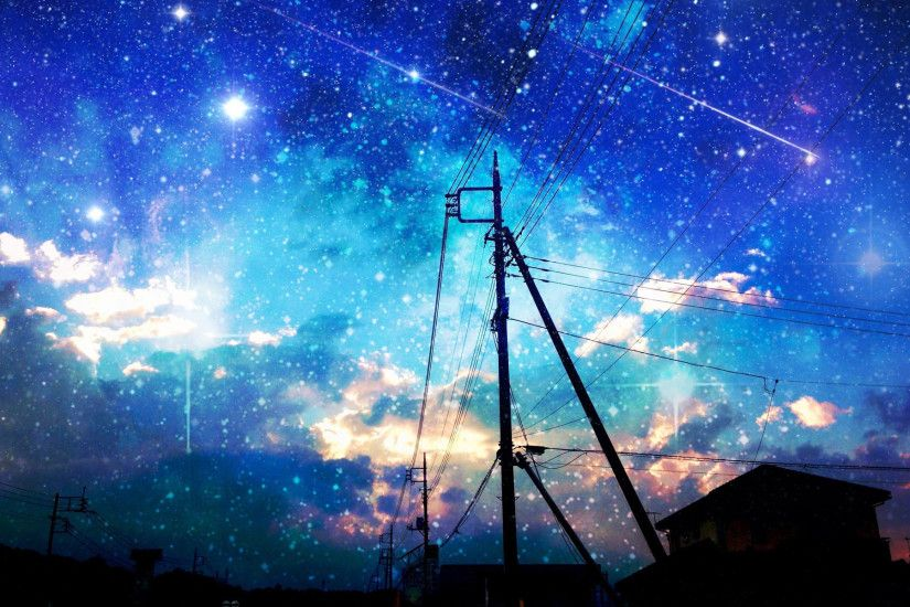 Starry Night Sky Wallpapers WallpaperPulse