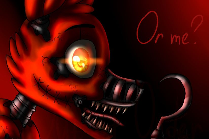 Nightmare Foxy (Five Nights at Freddy's 4) by ArtyJoyful.deviantart.com on