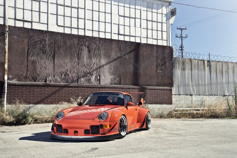 1995 porsche 911 widebody kit rwb coupe cars wallpaper | 2048x1360 | 798977  | WallpaperUP