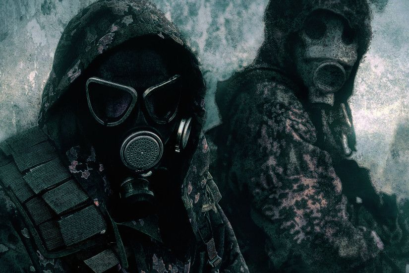 36 Gas Mask HD Wallpapers | Backgrounds - Wallpaper Abyss