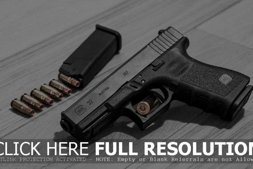G32 Glock Gun Wallpaper