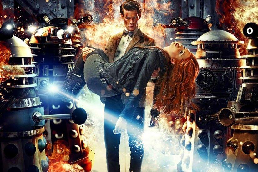 fantasy Art, Doctor Who, Matt Smith, Eleventh Doctor, Karen Gillan, Amy  Pond, Daleks Wallpapers HD / Desktop and Mobile Backgrounds
