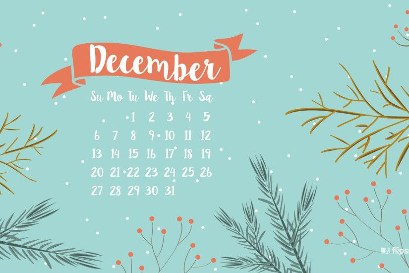 Freebies: December 2015 wallpaper calendars